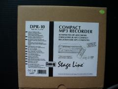 STAGE LINE MP3 Recorder